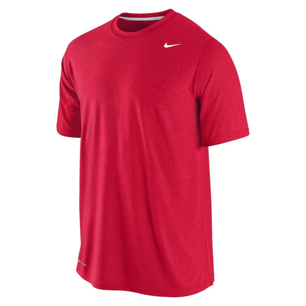 nike legend dri fit mens training t shirt red online sportitude. Black Bedroom Furniture Sets. Home Design Ideas