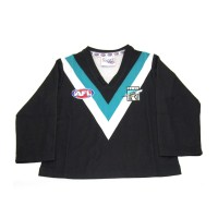 Sekem Official Supporter AFL Port Adelaide Power Long Sleeve Toddler Football Guernsey