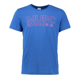 Adidas Manchester United 2016/2017 Mens Soccer T-Shirt