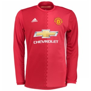 Adidas Manchester United 2016/2017 Mens Soccer Long Sleeve Jersey