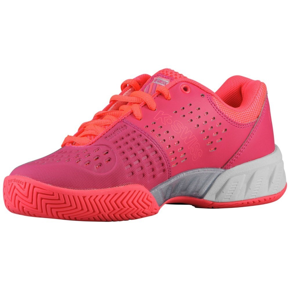 k swiss bigshot light tennis shoes pink