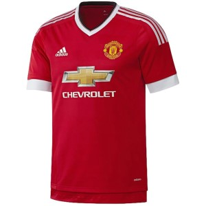 Adidas Manchester United 2015/2016 Home Mens Soccer Jersey