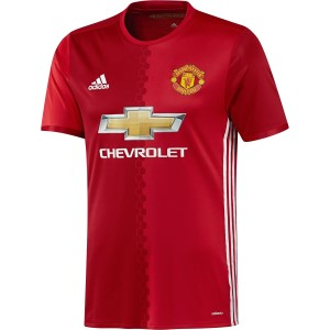 Adidas Manchester United 2016/2017 Home Kids Boys Soccer Jersey