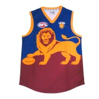 Sekem Official Supporter AFL Brisbane Lions Mens Football Guernsey