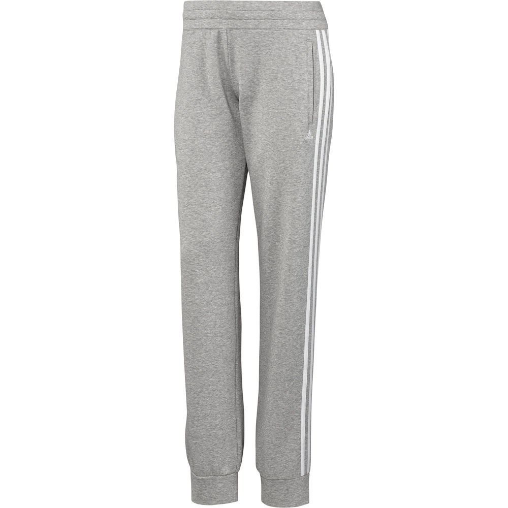 Adidas Essential 3 Stripe Brushed Womens Training Track Pants
