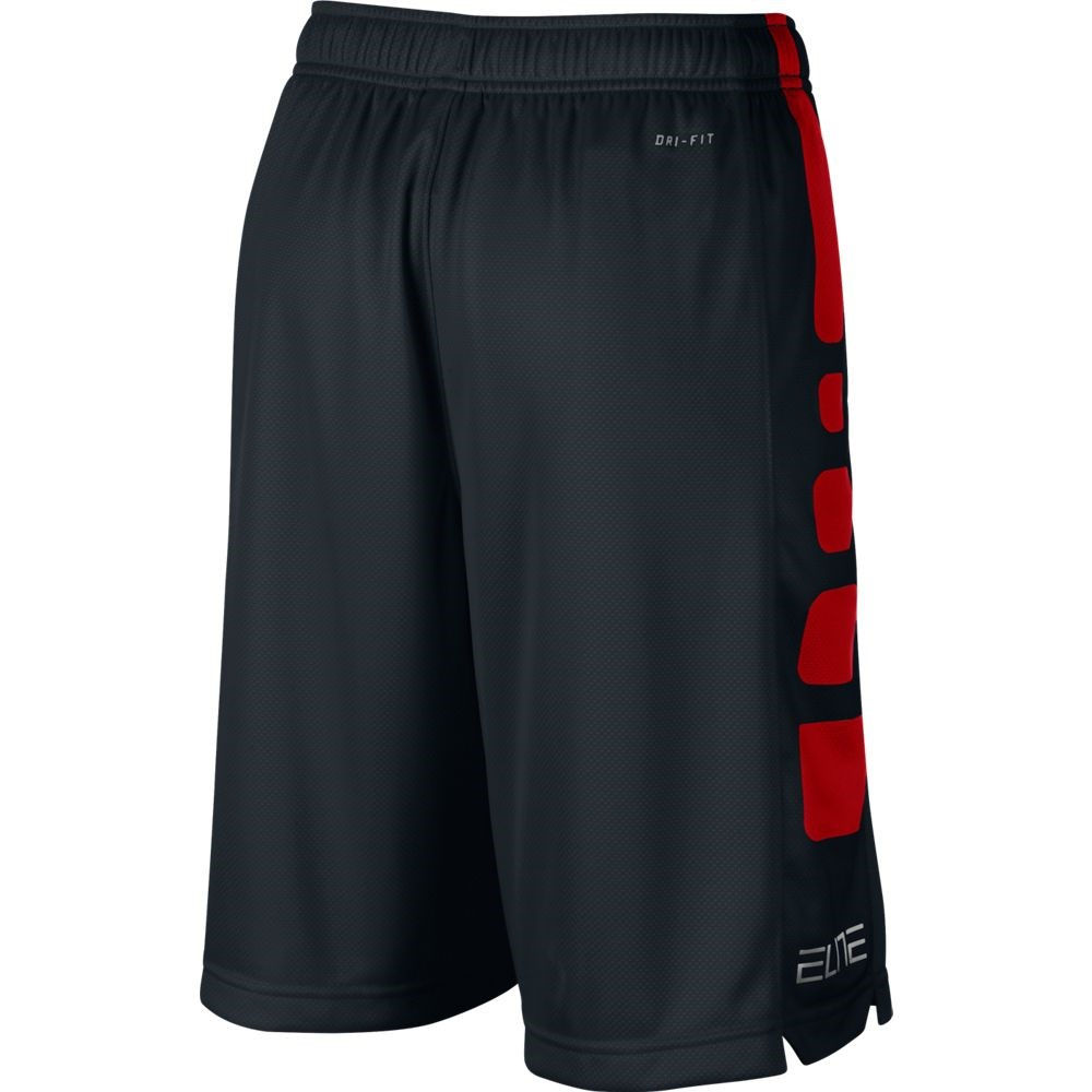 nike elite striped kids boys basketball shorts black. Black Bedroom Furniture Sets. Home Design Ideas