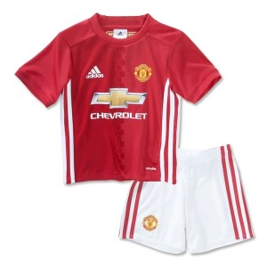 Adidas Manchester United Home 2016/2017 Kids Soccer Jersey/Short Set