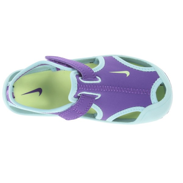 Nike Sunray Protect Toddler Girls Sandals Purple Venom