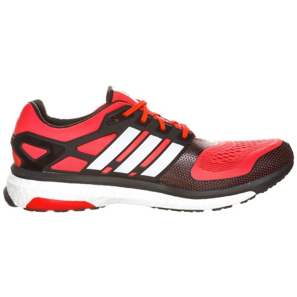 huge selection of 3cd10 de44d Adidas Energy Boost 2 ESM Mens Running Shoes - Solar Red White Black