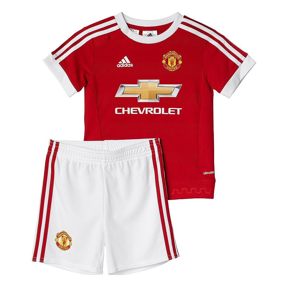 502713a4f89 Adidas Manchester United Home Infant Soccer Kit- Red/White | Sportitude