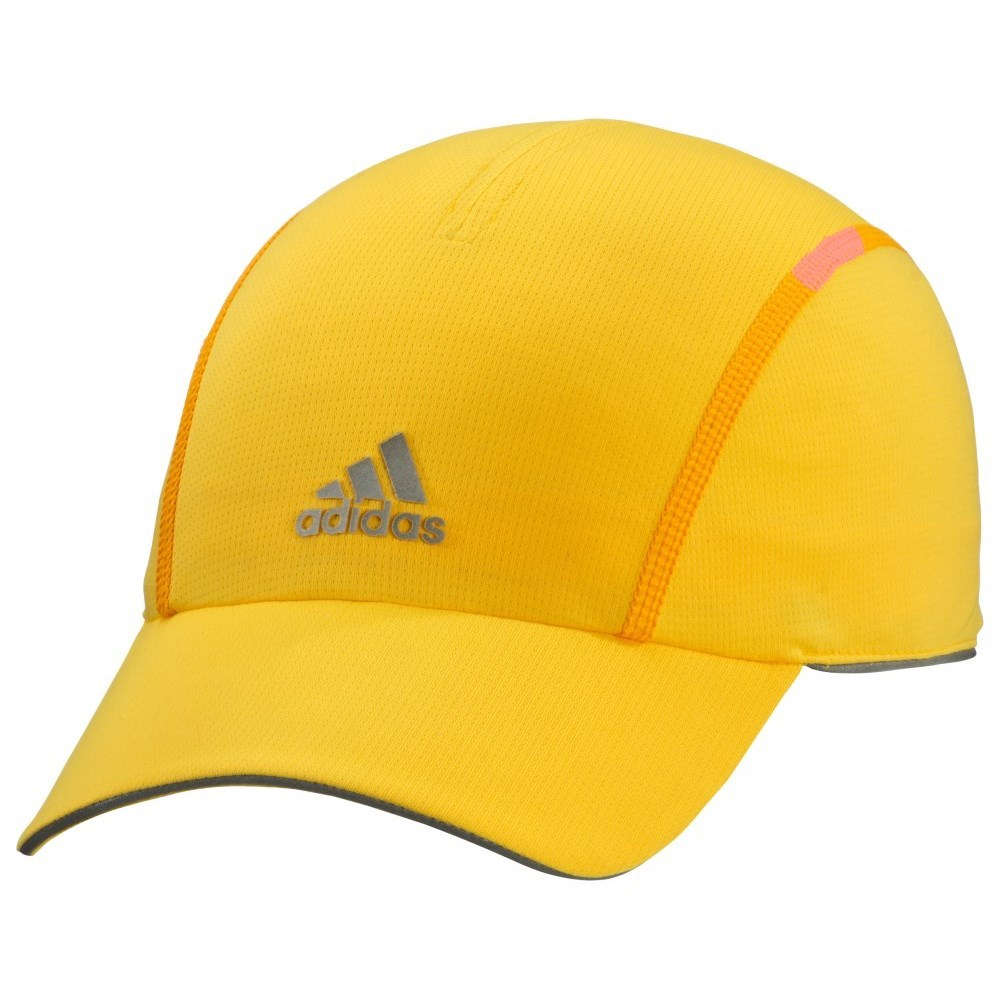 b2ca2feb412 Adidas Run Climachill Sports Cap - Solar Gold Metallic Silver ...
