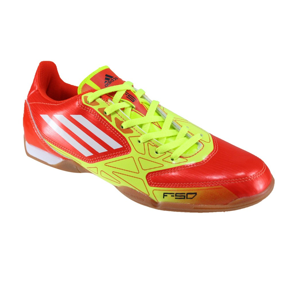 Adidas Orange Indoor Soccer Shoes