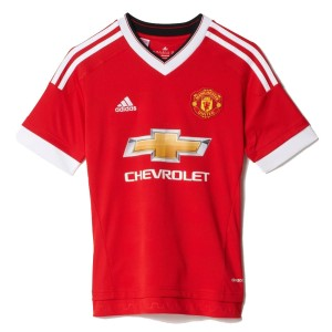 Adidas Manchester United Kids Home Soccer Jersey