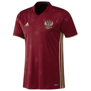 Adidas Russia Home Mens Soccer Jersey
