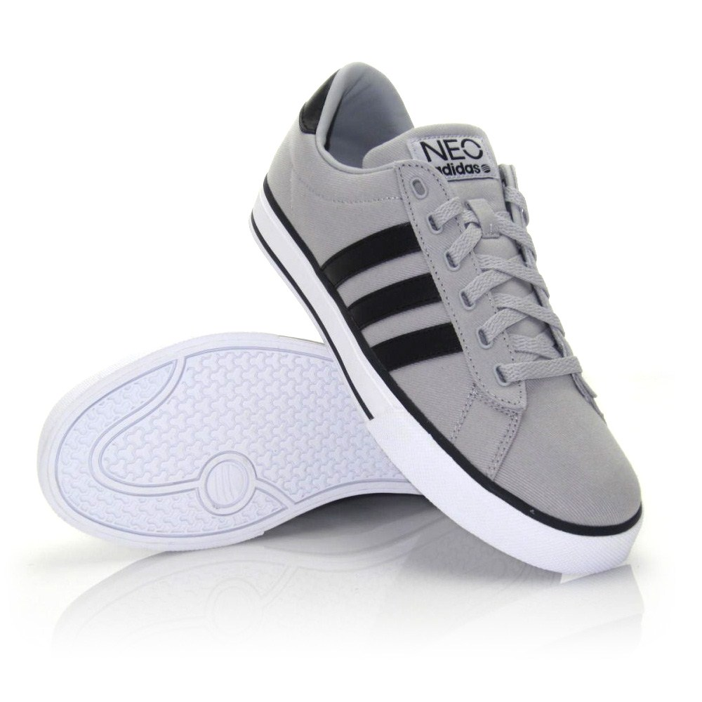 Adidas SE Daily Vulc - Mens Casual Shoes - Grey