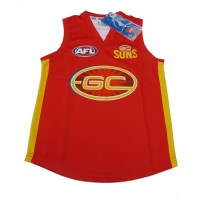 Sekem Official Supporter AFL Gold Coast Suns Mens Football Guernsey