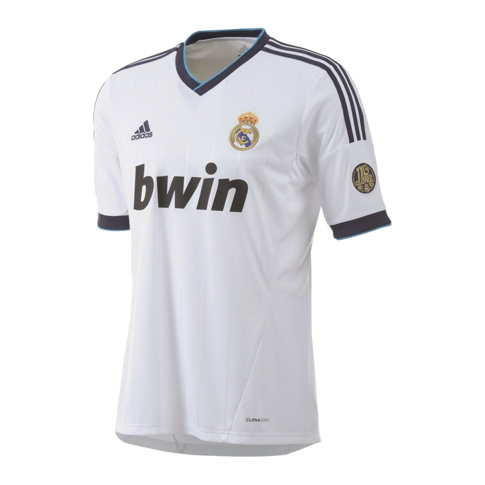 fbbf83df531 Adidas Real Madrid Home 2012 13 - Mens Soccer Jersey - White Navy ...