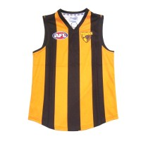 Sekem Official Supporter AFL Hawthorn Hawks Mens Football Guernsey