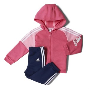 Adidas IJ Full Zip Infant Girls Hoodie Tracksuit