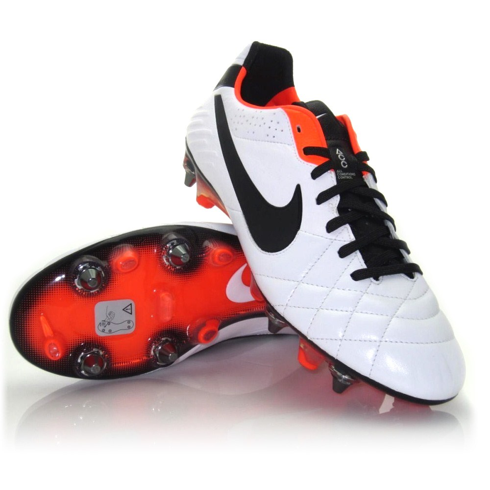 nike tiempo legend iv sg pro mens football boots white. Black Bedroom Furniture Sets. Home Design Ideas