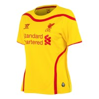Warrior Liverpool Football Club Away 2014/2015 - Kids Soccer Jersey