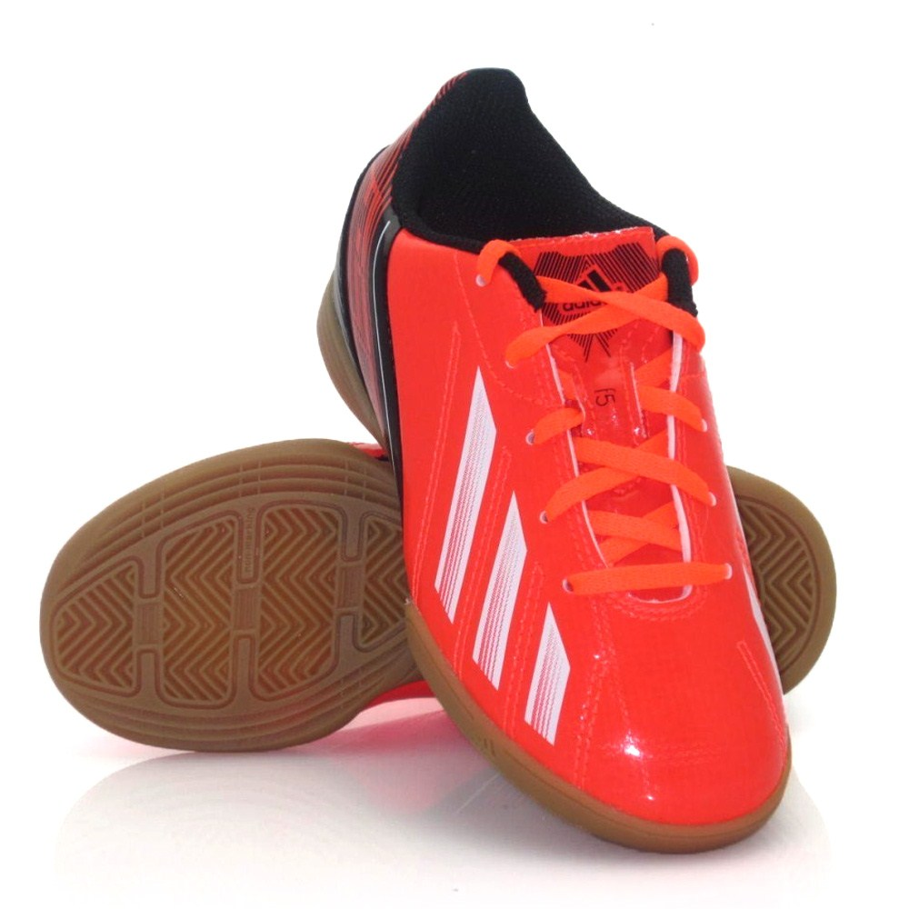 adidas red indoor soccer shoes