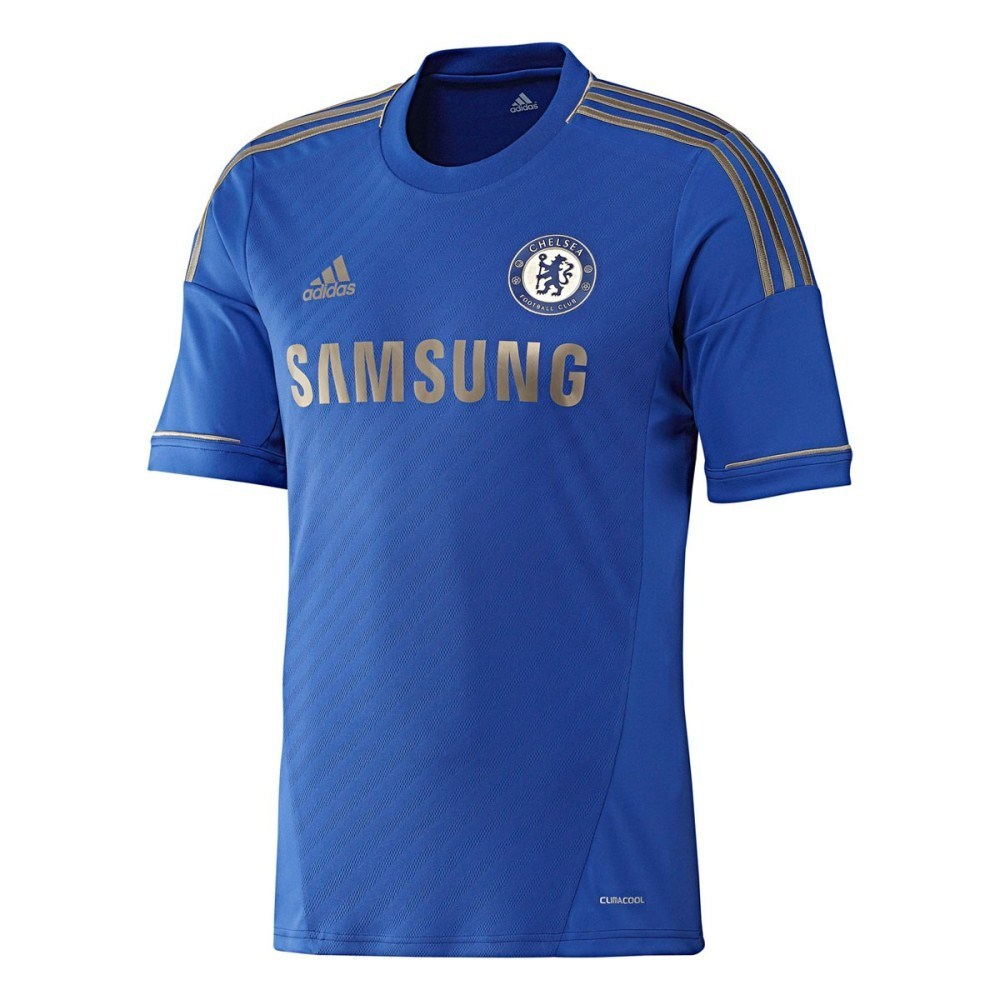 adidas Chelsea FC 2012 13 Presentation Jacket Navy Blue