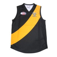 Sekem Official Supporter AFL Richmond Tigers Mens Football Guernsey