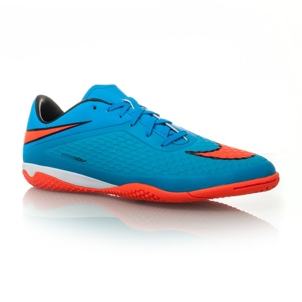 nike hypervenom phelon ic mens indoor soccer shoes blue