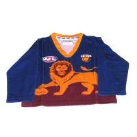 Sekem Official Supporter AFL Brisbane Lions Long Sleeve Toddler Football Guernsey