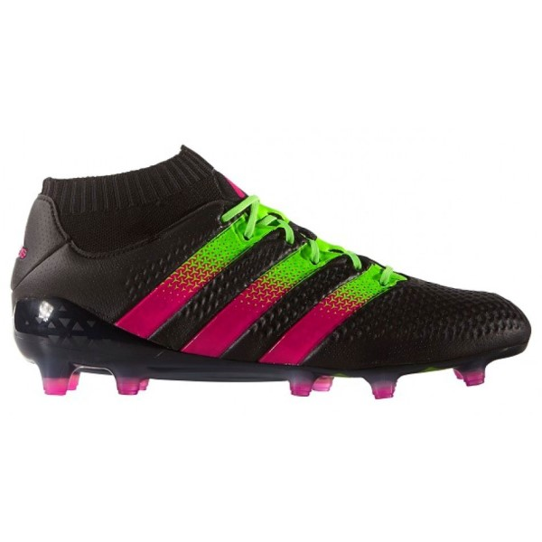 info for 17bf1 c1b79 Adidas Ace 16.1 Primeknit FG AG Mens Football Boots - Core Black Shock Pink