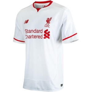 New Balance Liverpool Away 2015/2016 Kids Soccer Jersey