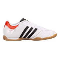 ... Adidas 11Questra - Junior Indoor Soccer Shoes - White Black 8871cce2f