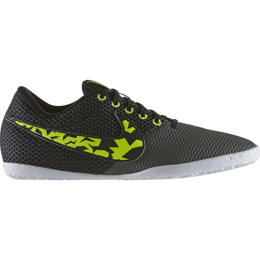 9f01ece12 Nike Elastico Pro III IC Mens Indoor Soccer Shoes - Black Volt Midnight Fog