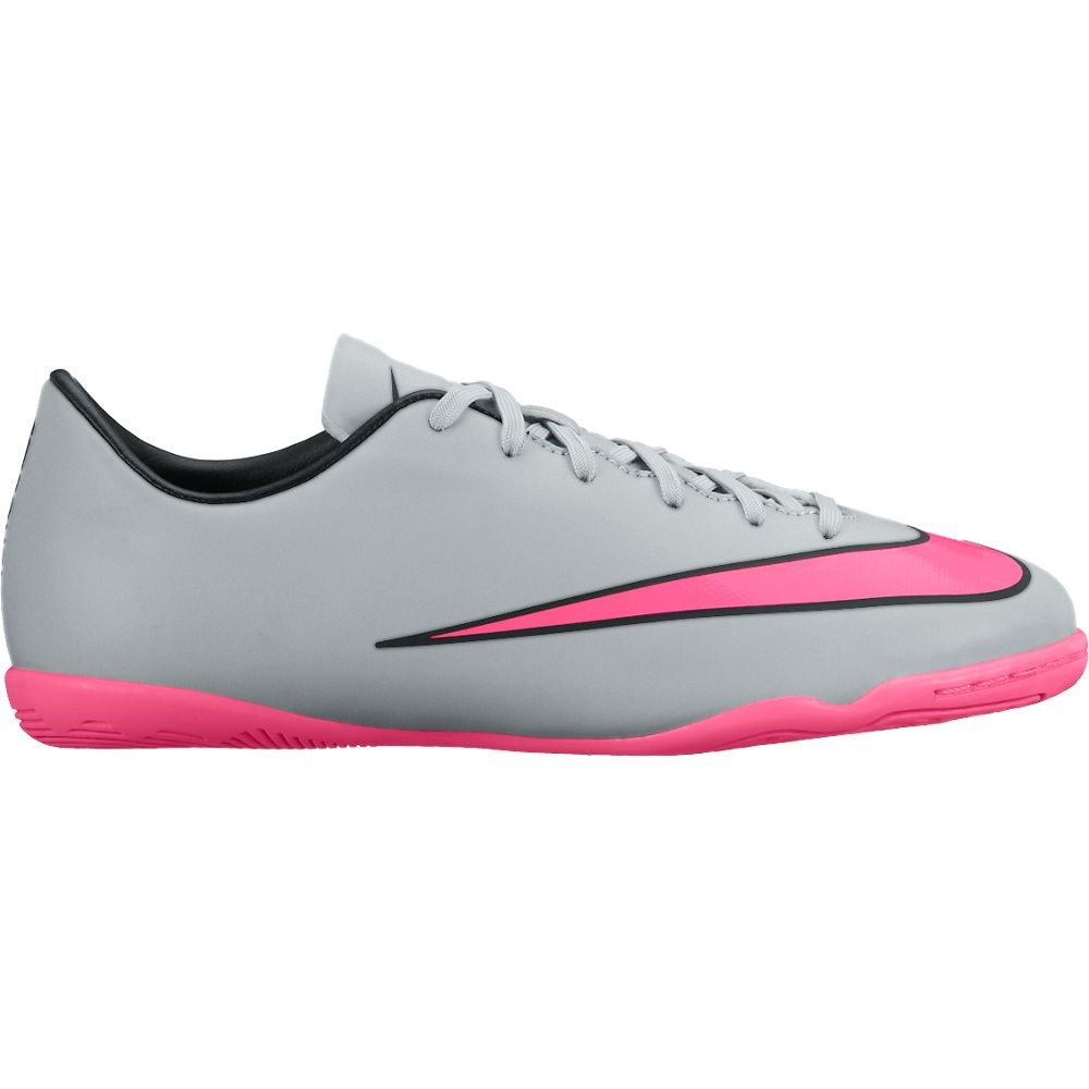 ff74df0d1 ... good nike mercurial victory v ic kids indoor soccer shoes wolf grey  hyper pink 4e61d 9f2c5 ...