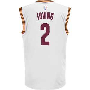 52f3da236 ... Adidas NBA Kyrie Irving Cleveland Cavaliers Swingman Mens Basketball  Jersey - White Gold Red