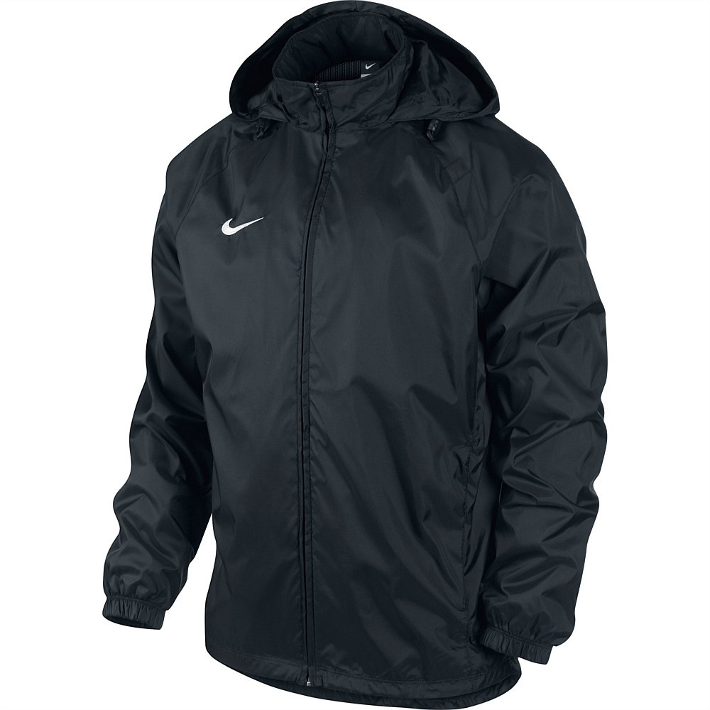 Nike Foundation Mens Soccer Rain Jacket - Black Online | Sportitude