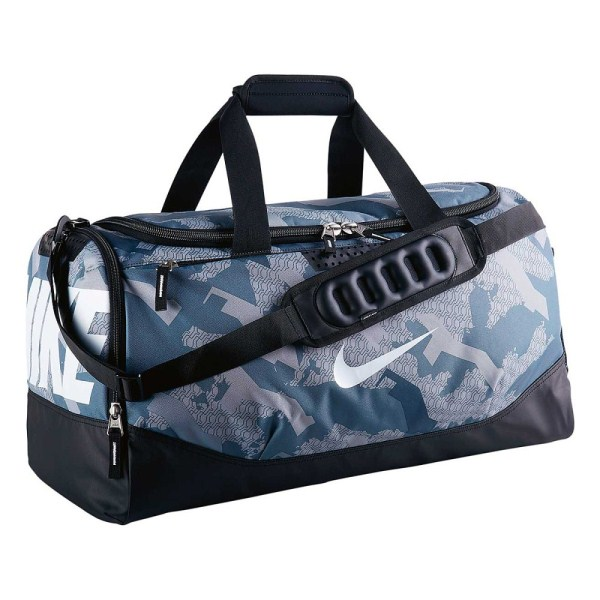 b5580f036c Nike Team Training Max Air Medium Duffel Bag - Grey