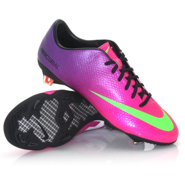 Purple Indoor Soccer Shoes Nike