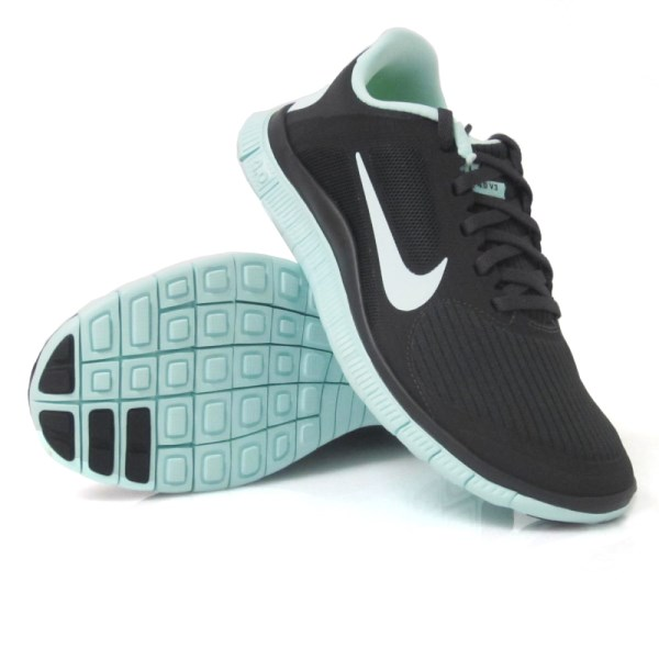 womens nike free run 4.0 v3 white black