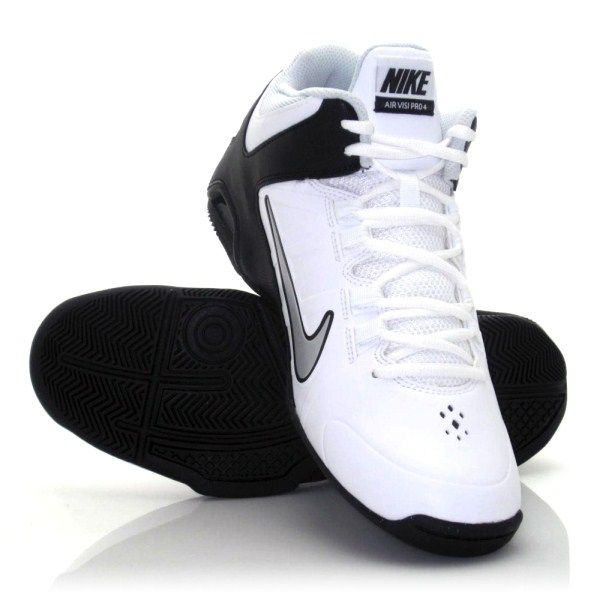 82c404f7130 Nike Air Visi Pro IV - Mens Basketball Shoes - White